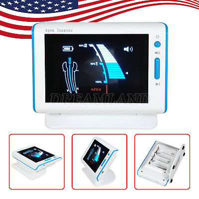 "Endodontics 4.5""LCD Dental Apex Locator Root Canal Finder fit WOODPECKER DTE"