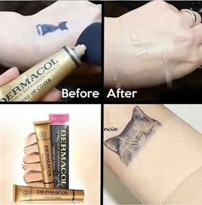 Dermacol High Cover Makeup Foundation Concealer Waterproof NEW (Free Shipping)