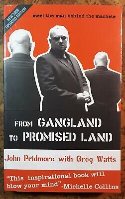 SIGNED Pridmore FROM GANGLAND TO PROMISED LAND softcover vgc+ London Crime
