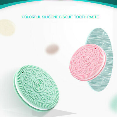 New Silicone Cute Baby Biscuits Teether Molars Toys Simulation Oreos Cookies