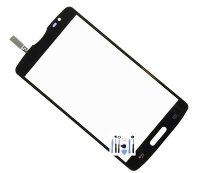 Front Top Outer Glass Touch Panel Screen Digitizer For LG Optimus L80 D373 Black