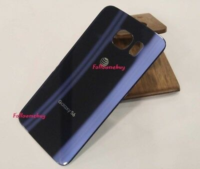 A++ Rear Panel Battery Back Door Cover For Samsung Galaxy S6 G920A AT&T Blue