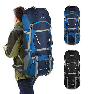 c197ab0c44 TOMSHOO Backpack 70L Outdoor Sport Water-resistant Internal Frame Backpack  Q9B8
