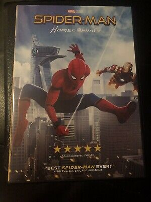 ** Spider-Man: Homecoming (DVD, 2017, Closed-Captioned)