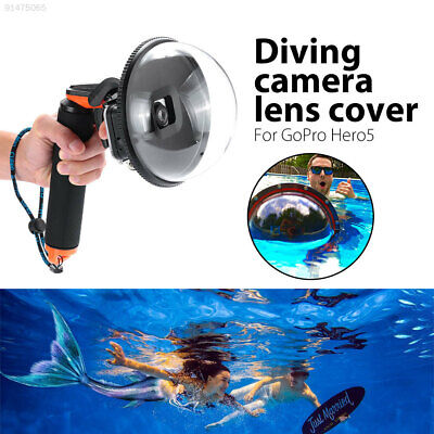 5F2C Diving Camera Lens Dome Port Cover Hood Shell For Gopro Hero 5 Camera