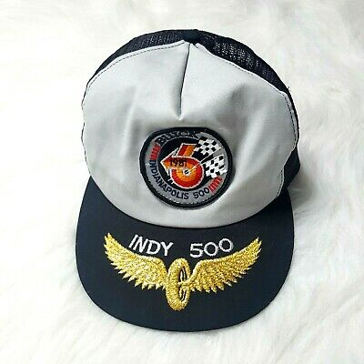 Ball Cap Hat 1981 Buick Indy 500 Pace Car Baseball Indianapolis Black Gold USA