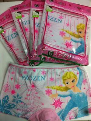 BNIP Frozen Girls Underwear Undies Briefs
