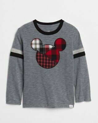 Gap Disney Mickey Mouse Long Sleeve Tee 5T Months New With Tags