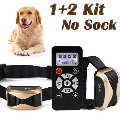 Safety Anti Dog Barking Collar No Bark Pet Training Collar with Sound/Vibration