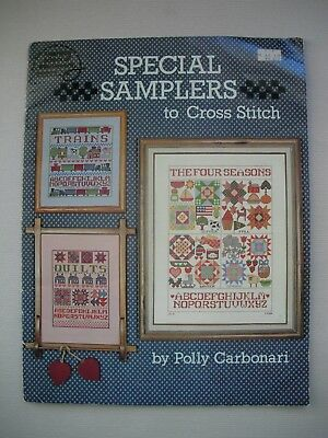 Special Samplers to Cross Stitch - Polly Carbonari - Cross Stitch Pattern Book