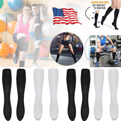 e86b43d522 Compression Socks 20-30mmHg for Nurses Cycling Runners Fitness Weight  Lifting