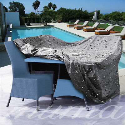Waterproof Cube Cover Rattan Garden Outdoor Furniture UV Rain Cover