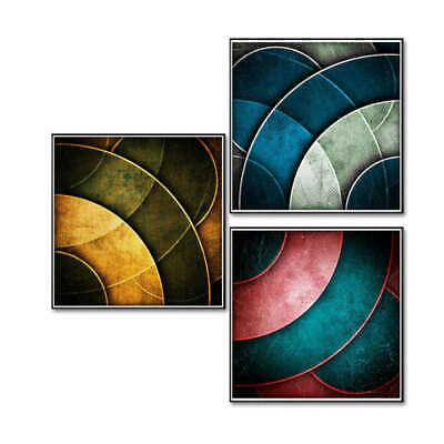Abstract Geometric Art Wall Painting Canvas Frameless Print Picture Home Decor