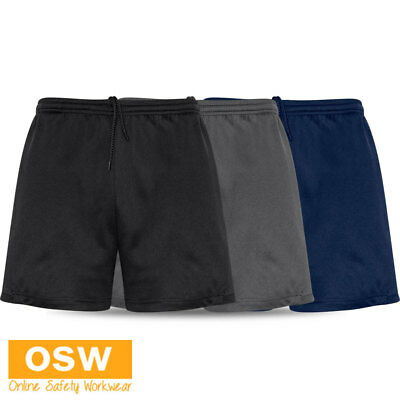 Mens Circuit Gym Crossfit Interval Training Stretch-Knit Comfort Sport Shorts