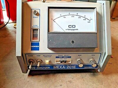 Horiba CO Analyzer MEXA-201E Engine exhaust Analyzer