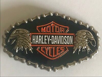 Harley Davidson motorcycle belt buckle brand new in packet
