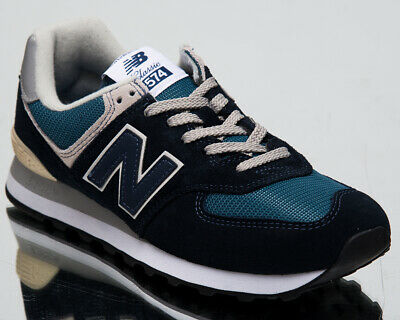 adc63a94dbc NEW BALANCE 574 Men's New Dark Navy Blue Casual Lifestyle Sneakers ML574-ESS