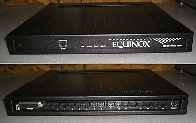 Equinox ELS-II Terminal Server 790203-00 16-port No AC Adapter