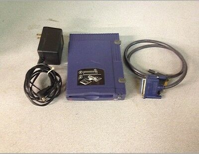 Iomega 04061D00 Zip Drive Parallel 100MB w/ AC Adapter + Cable