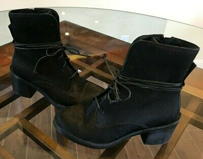 3d43c85f23b UGG ORIANA EXOTIC Women's Boots (Size 8.5 - 10) Black Cow Hair ...