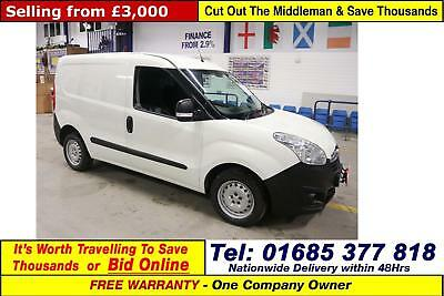 2015 - 64 - Vauxhall Combo 2000 L1 H1 1.3Cdti Van (Guide Price)