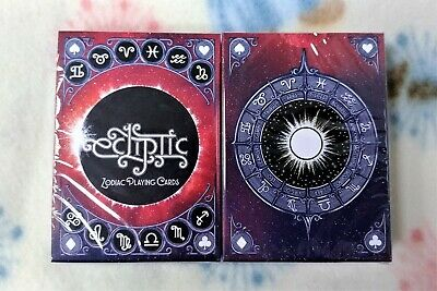 1 deck Ecliptic Zodiac RED Playing Cards-S103049235-走3-3
