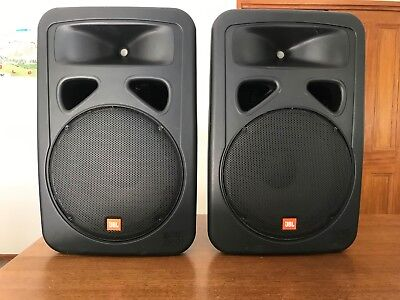 Jbl Two Way Passive Speakers Eon 1500 Quality Pair Made In Usa