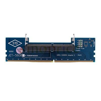 Laptop DDR4 RAM To Desktop Adapter Card memory Converter Over-Current Protection