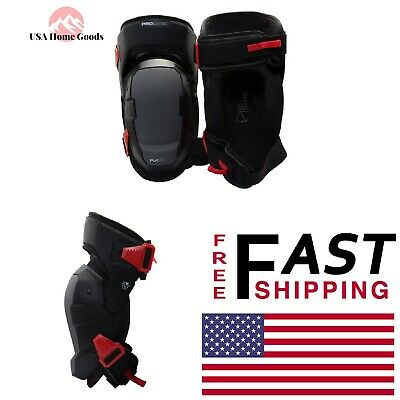 8075bffb5e Professional Black Gel Thigh Support Stabilization Safety Knee Pads (PAIR)
