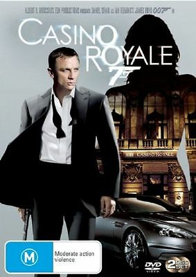 Casino Royale (DVD, 2-Disc Set) REGION-4- NEW AND SEALED-FREE POST IN AUSTRALIA