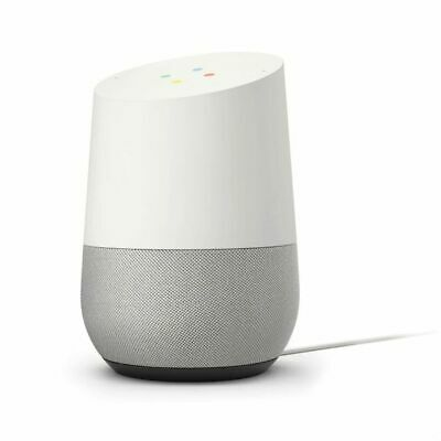 GOOGLE Home Smart Speaker Voice control with GOOGLE Assistant white