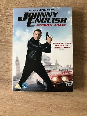Johnny English Strikes Again (with Unused Digital Download) [DVD] 2019 Release