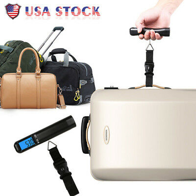 Portable 40kg Hanging Electronic Digital Travel Suitcase Luggage Weighing Scales