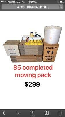 Complete moving pack free delivery to your door