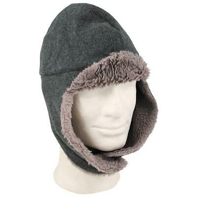 #2 Dutch Military Cold Weather Hat Winter Trapper Olive Green Army Surplus NEW