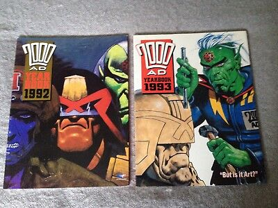 200AD Yearbook 1992 1993 Collectable Books