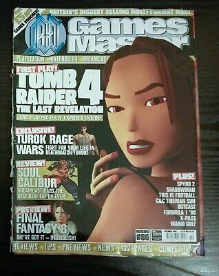 14 x Retro 90s and early 2000s Games Master Magazines and Playstation Magazines