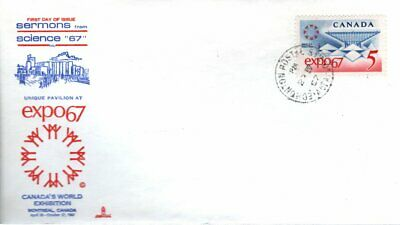 1967 #469 EXPO'67 FDC with Capital cachet unaddressed