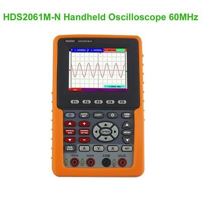 Newest 2 in 1 OWON Handheld HDS2061M 3.7'' TFT Color DSO+Multimeter Oscilloscope