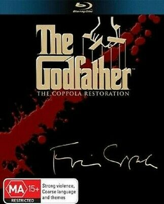 The Godfather: The Coppola Restoration Collection (Blu-ray 5-Disc Set) Region B