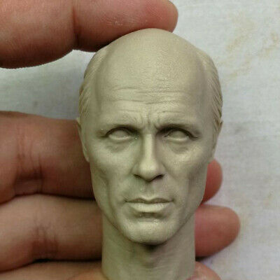 Blank Hot 1/6 Scale Head Sculpt Ed Harris Major Konig Unpainted