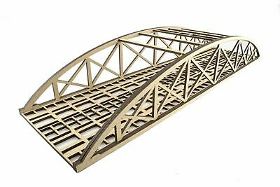 WWS Double Track Low-Detail Bowstring Bridge 560mm – OO/HO Model Railway