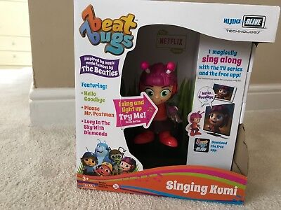 """Beat Bugs Hijinx Alive Technology 6"""" Singing Kumi Toy Figure For Ages 3"""