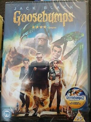 Goosebumps [DVD] [2016] - DVD  EWVG The Cheap Fast Free Post