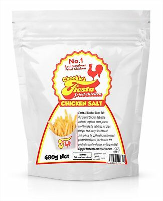 Chicken Salt for Hot Chips Authentic Southern Fried Kentucky Style 480g