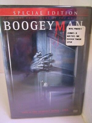 The Boogeyman (DVD, 2005, Special Edition) Rated PG-13, NEW & Sealed Free Ship