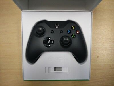 OFFICIAL Xbox One S X Wireless Controller with 3.5mm Jack Black BRAND NEW