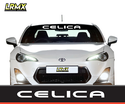 Toyota Celica Sunstrip Graphic Decal GT86 T Sport GT High Quality Professional