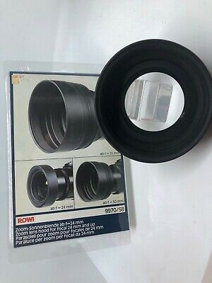 JGJ METAL LENS Hood 58 mm for Standard Focal Camera Lens