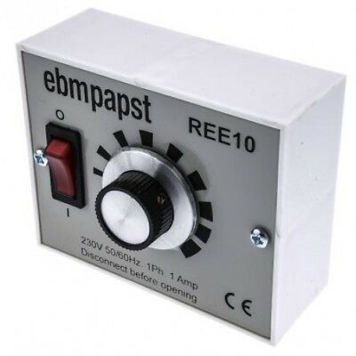 Ebm Papst    Ree 10    Speed Controller, Manual, 230Vac, 1A